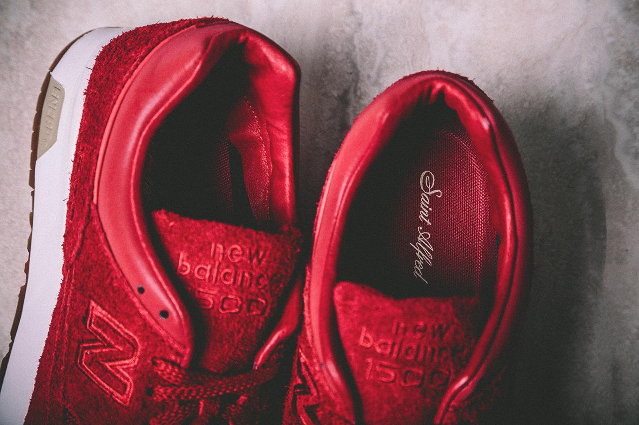 new balance toute rouge femme